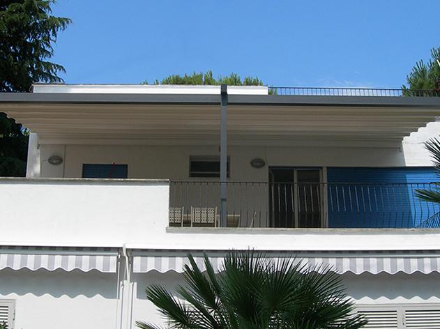 Pergola oder Terrassenfaltdach A100