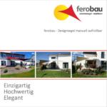 Prospekt ferobau-Designsegel Manuell V2 Online