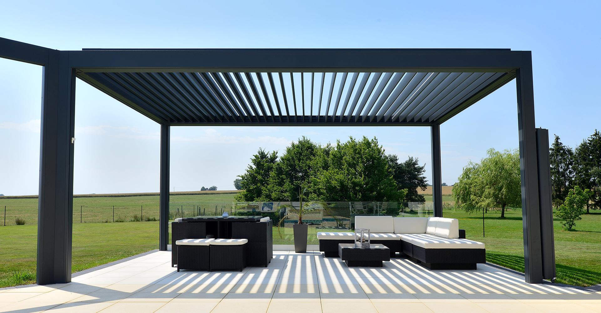sonnensegel lamellendach pergola terrassendach markise. Black Bedroom Furniture Sets. Home Design Ideas